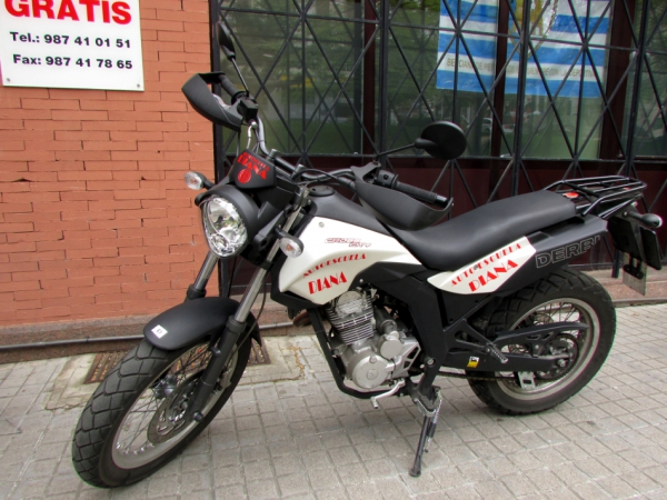 Derbi Cross City 125